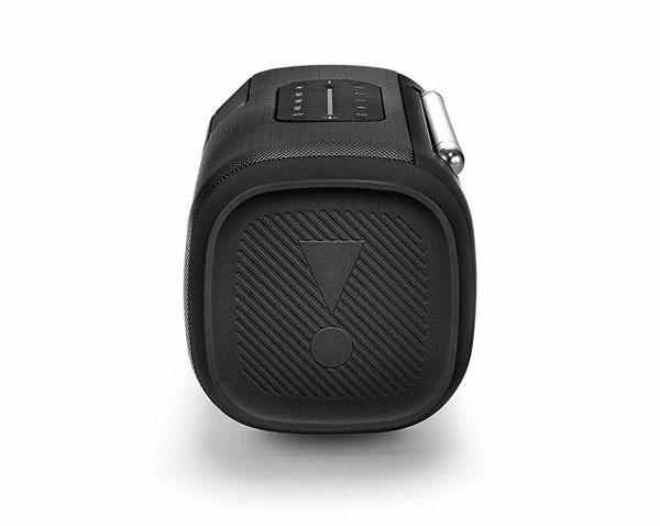 ワイドFMラジオ放送も聞ける、おしゃれなポータブルBluetoothスピーカー
