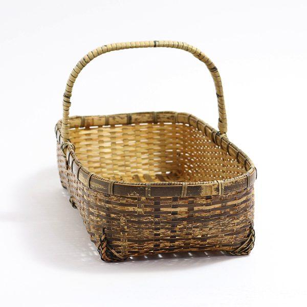 収納力と美しさを持った、おすすめの風格漂うおしゃれな竹かご