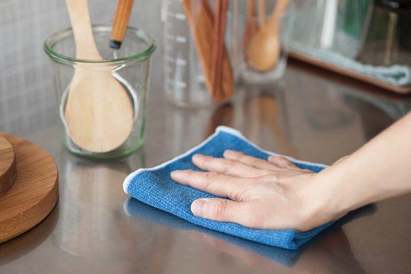 お掃除にオススメの、水だけで簡単に汚れを落とすおしゃれな掃除クロス