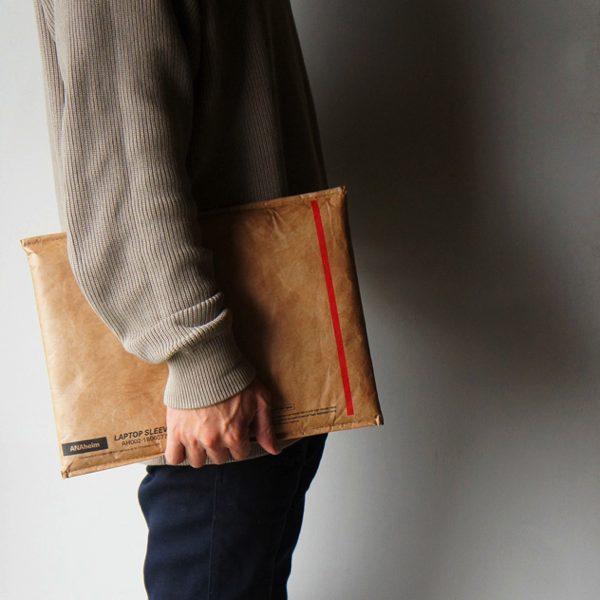 外国の封筒のようなデザインの、おしゃれな防水性ノートパソコンケース