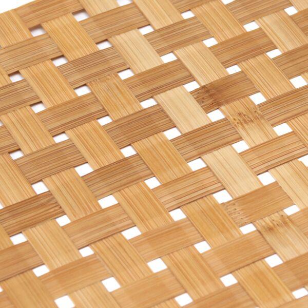 竹を手編みした、美しくおしゃれなランチョンマット