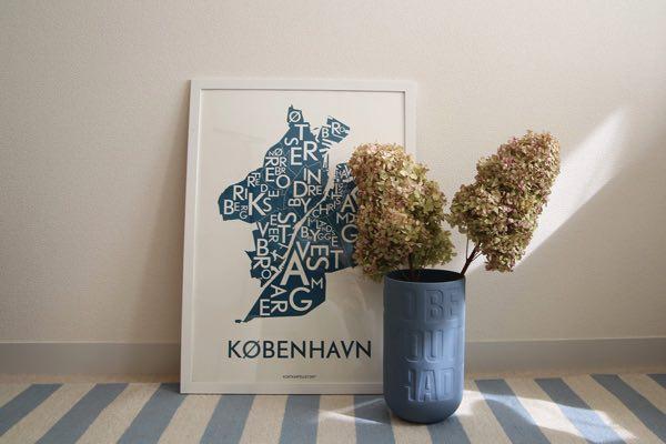 お部屋の雰囲気をガラっと変えてくれる、おしゃれなデンマークのポスター