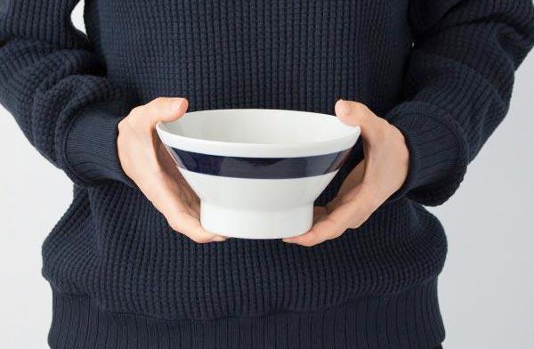 ご飯にも麺にも使える、丈夫でおしゃれなお茶碗