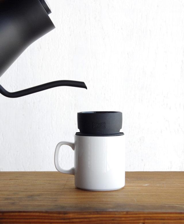 場所を選ばずコーヒーを楽しめる、おしゃれな超小型のコーヒードリッパー