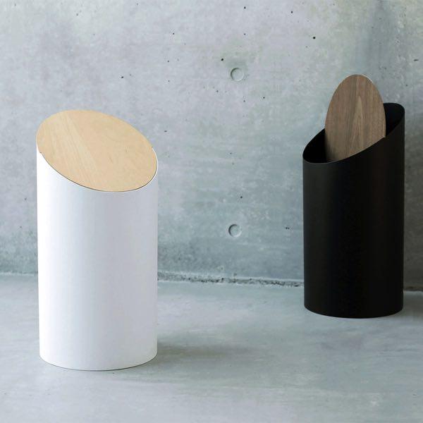 シンプルなデザインで美しい、おしゃれなゴミ箱