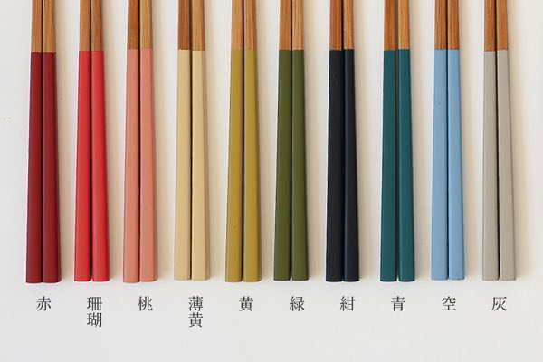 宮内庁や各宮家の御用達の老舗メーカーが作る、天然竹細工のおしゃれなお箸
