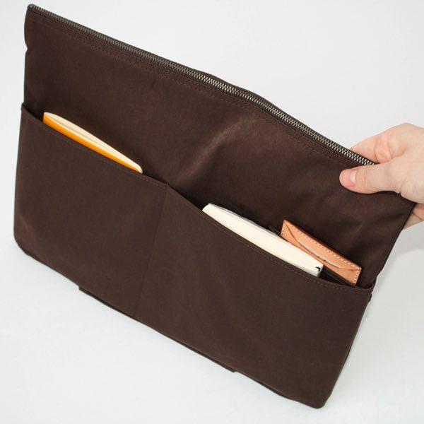 細々としたものがキレイに収納できる、おしゃれなバッグインバッグ