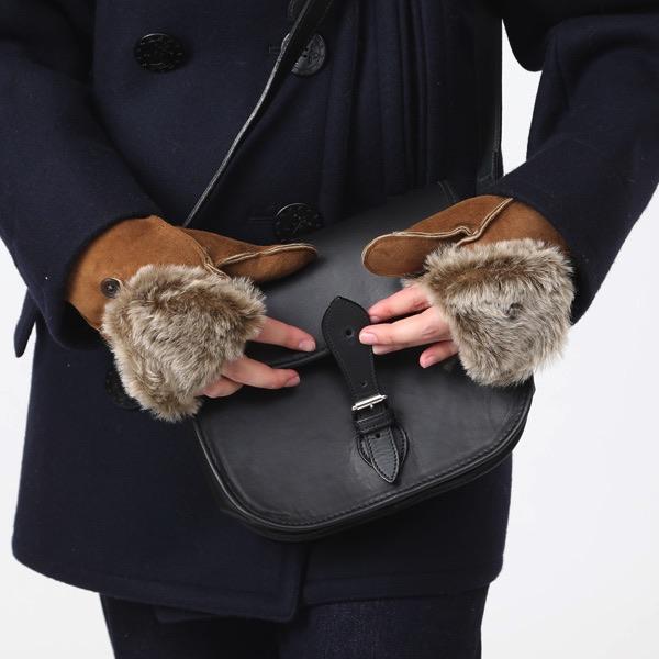 指なし手袋が好きな方におすすめの、おしゃれなイギリス製のミトン