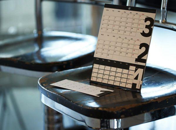 3ヶ月をひと目でチェックできる、使い勝手の良いおしゃれな卓上カレンダー2021年版