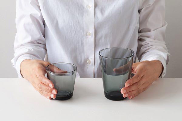 シンプルを追求したおしゃれなグラス