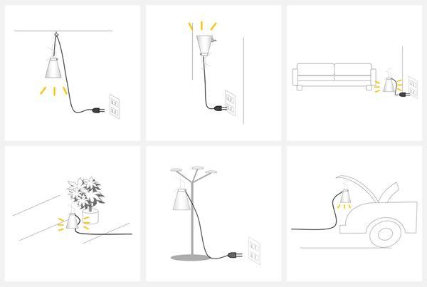 イタリア工業デザインの賞を受賞した、おしゃれなペンダントライト