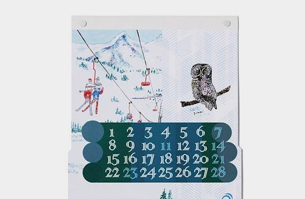 まるで世界旅⾏のように日常⾵景を切り取った、おしゃれな壁掛けカレンダー2021年版