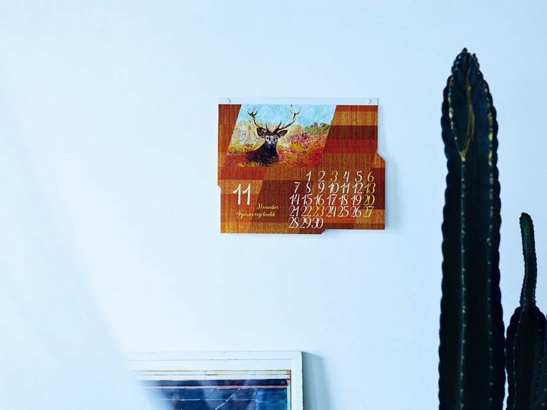 まるで世界旅⾏のように日常⾵景を切り取った、おしゃれな壁掛けカレンダー2022年版