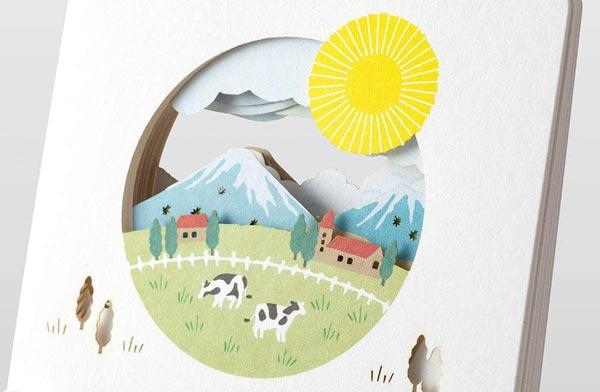 毎月変化する季節の絵柄を楽しめる、おすすめの卓上カレンダー2021年版