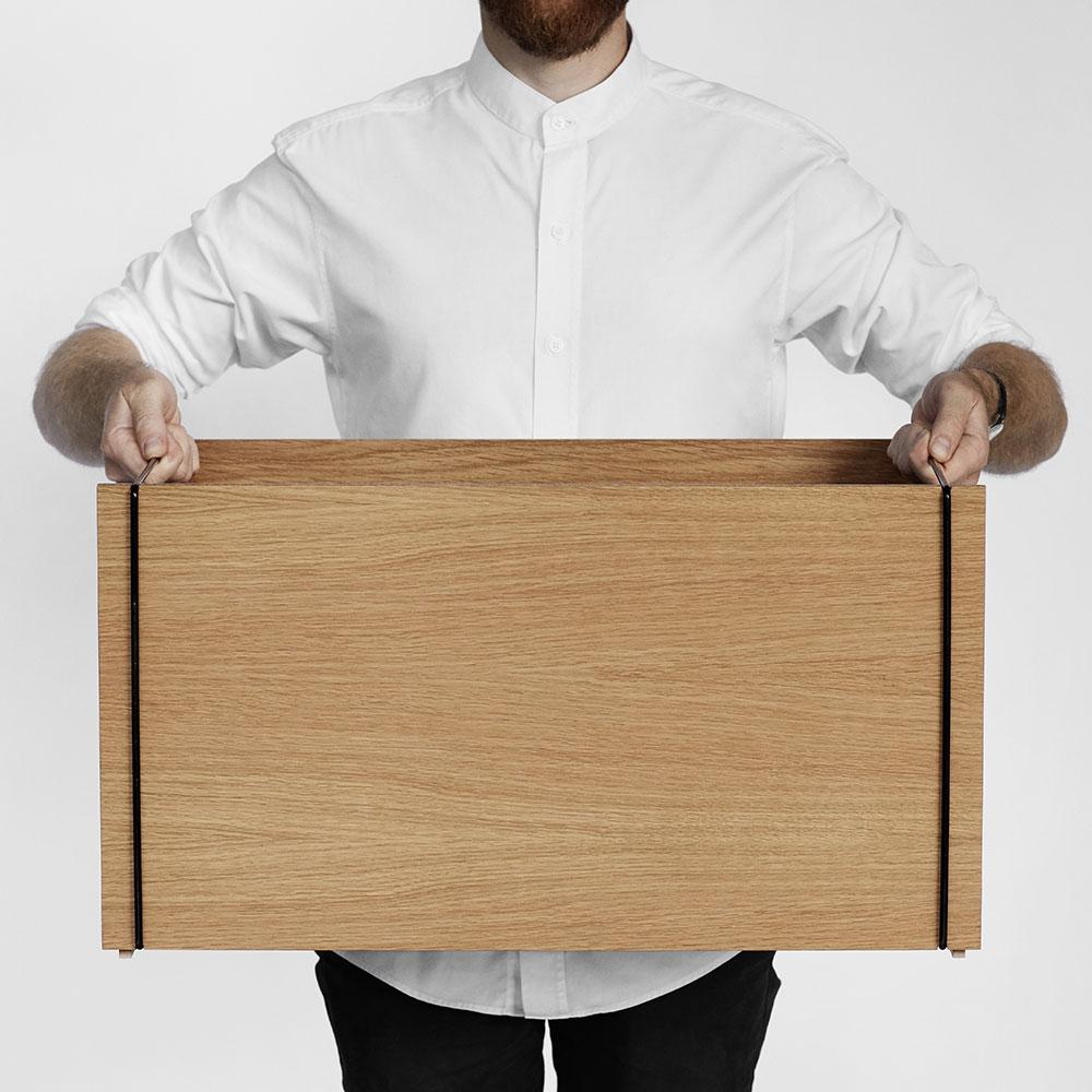 デンマーク発のインテリアブランドが作った、おしゃれな木製の収納ボックス