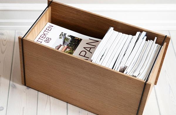 デンマーク発のおしゃれな木製収納ボックス