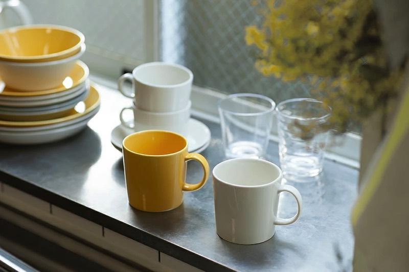 「これぞマグカップ」というデザインの、おしゃれなマグカップ