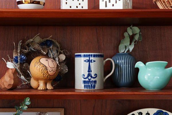 オブジェとして置いておくだけでも存在感がある、おしゃれで大きめサイズのマグカップ