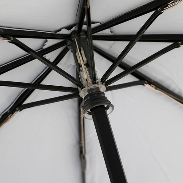 女性だけでなく男性にもおすすめの、シンプルなデザインのおしゃれな晴雨兼用の日傘
